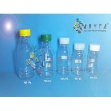 Botol Plastik PET 85ml 125ml 150ml 250ml 310ml BKB Tutup Warna-Warni