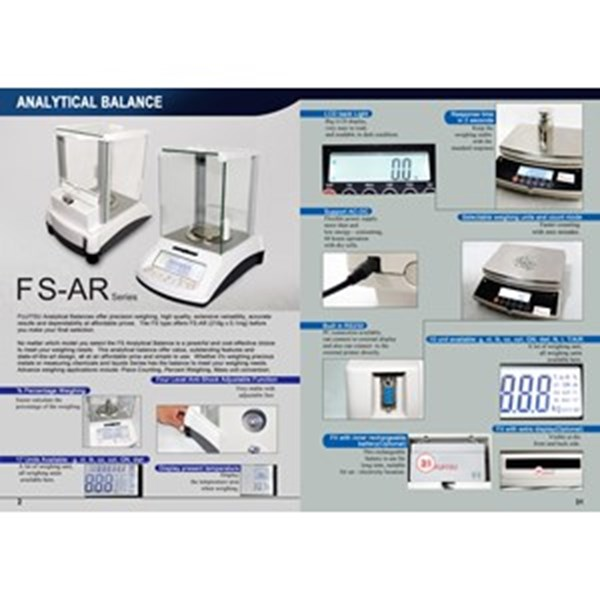 Analytical FUJITSU  FS AR 210gr x 0.1mg - Murah