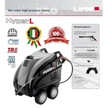 Hot Water High Pressure Cleaner Hyper L 1211 LP (MESIN STEAM)