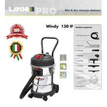 Wet & Dry Vacuum Cleaner (PENYEDOT DEBU) Windy 130 IF