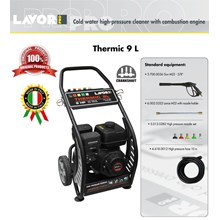 HIGH PRESSURE CLEANER - THERMIC 9L - COLD WATER (MESIN STEAM)