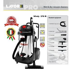 VACUUM CLEANER (PENYEDOT DEBU) WET & DRY WINDY 378 IR