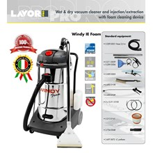 VACUUM CLEANER AND INJECTION WITH FOAM - PENYEDOT DEBU WET & DRY-WINDY IE FOAM