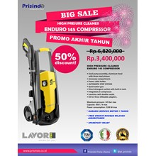 HIGH PRESSURE CLEANER  ENDURO 145 COMPRESOR (MESIN STEAM)