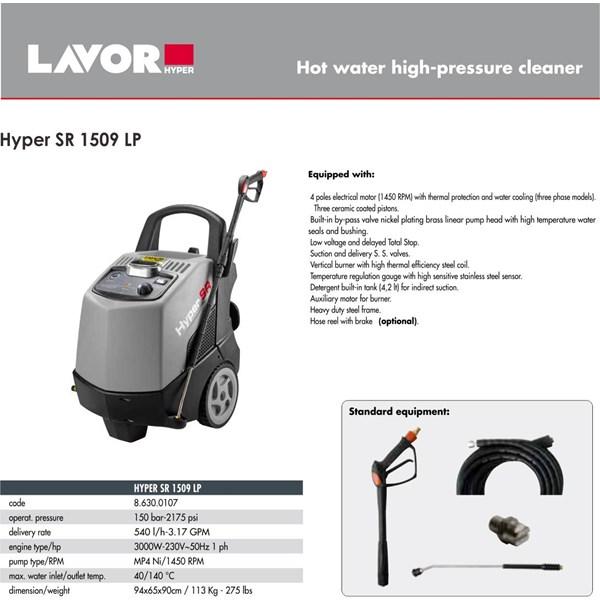 High Pressure Cleaner Hyper SR 1509  LP