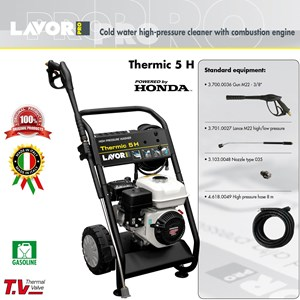 HIGH PRESSURE CLEANER - THERMIC 5H - COLD WATER (ALAT STEAM)