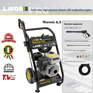 HIGH PRESSURE CLEANER - THERMIC 6 5 - COLD WATER (ALAT STEAM)