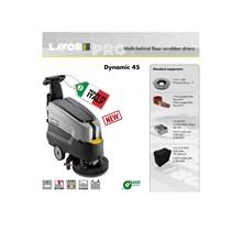 Walk-Behind Floor Scrubber Lantai - Dynamic 45E