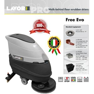 Walk Behind Floor Scrubber Drier (PEMBERSIH LANTAI) Free Evo 50B