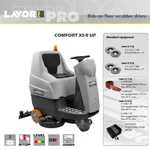 Ride On Floor Scrubber Driers Comfort XS-R 85 UP (Scrubber Lantai)