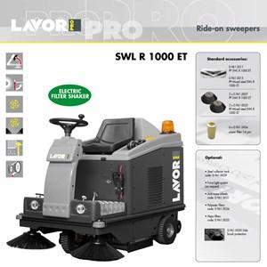SWEEPERS SWL-R 1000 ET (Mesin Penyapu)