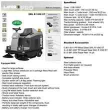 SWEEPERS SWL-R 1000 ST (Mesin Penyapu)