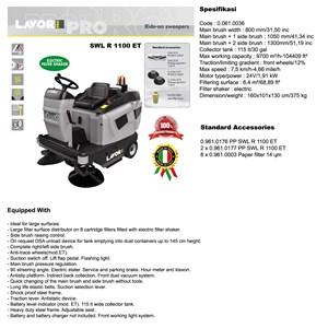 SWEEPERS SWL R 1100 ET (Mesin Penyapu)