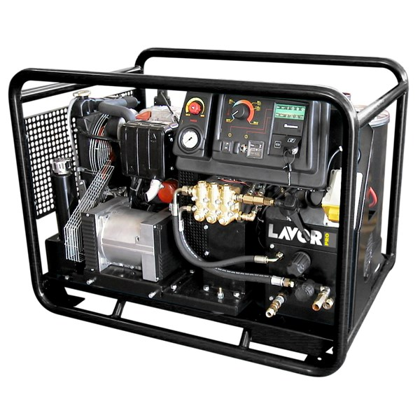 LAVOR THERMIC 17 HW HOT WATER HIGH PRESSURE CLEANER ENGGINE DIESEL 200 BAR