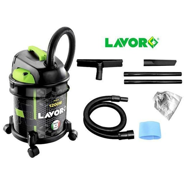 PROMO LAVOR RUDY 1200 S LAVOR WET DRY BLOW VACUUM CLEANER