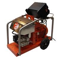 WATER JET BLASTER ELECTRIK ATEX  DENJET CEX 20 PRESSURE 170-500 BAR FLOW ARET 16-45 LPM