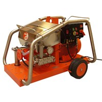WATER JET HIGH PRESSURE CLEANER ATEX  DENJET CEX 40 PRESSURE 20-2000 FLOW RATE 9-86 LPM