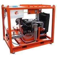 DIESEL WATER JET PRESSURE DENJET CD 160 PRESSURE 200-2500 BAR FLOW 25-300 LPM