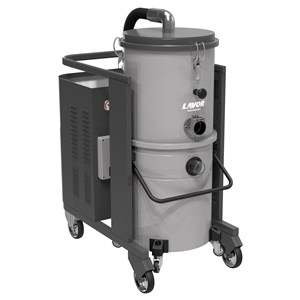 INDUSTRIAL VACUUM CLEANER 3 PHASE LAVOR DTV 100 1 55 SL HEAVY DUTY