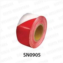Barricade Tape Floor Sign Red-White 300 M