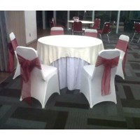 Tablecloth + glove Chair