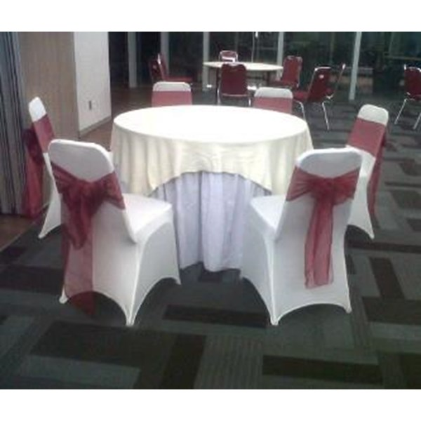 Tablecloth + glove Chair