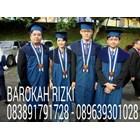 Toga wisuda graduation  3