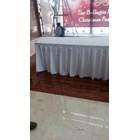 Taplak Meja Rempel Warna Putih 1