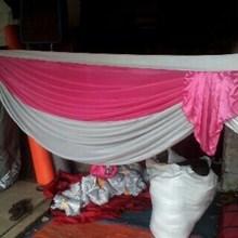 Rumbai tenda 2 warna