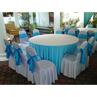 Jual COVER TABLE BULAT HOTEL 2