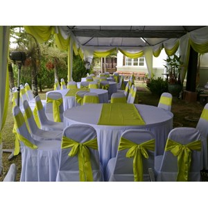 COVER TABLE BULAT HOTEL