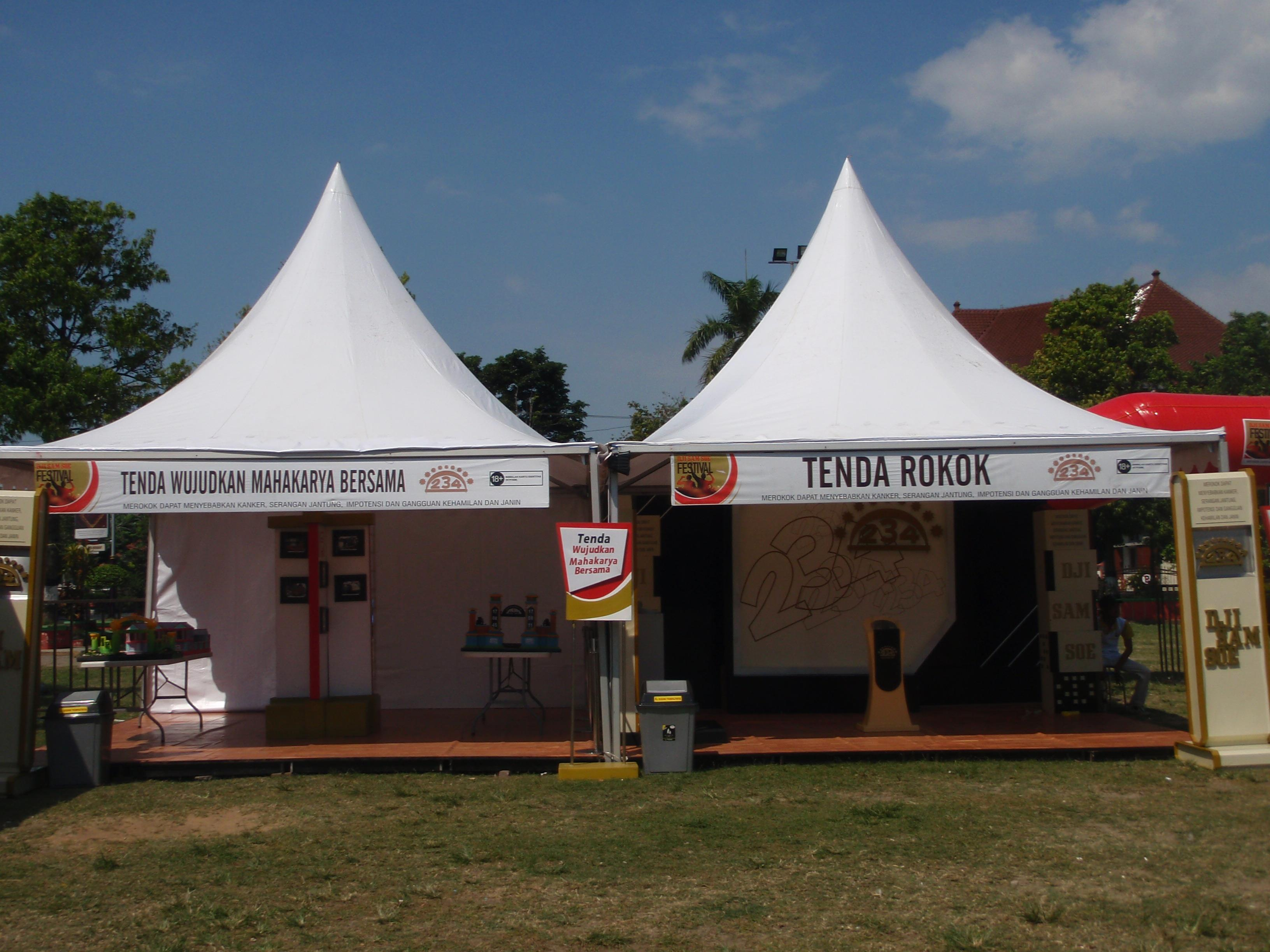 Sell Conical Tent Sale From Indonesia By Pt Bungsu Jaya