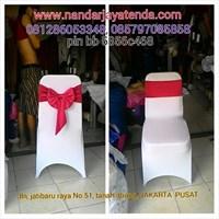 Dekorasi Pernikahan dan Hadiah SARUNG KURSI MODEL KETAT
