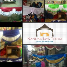 PONI TENDA MODEL MAYANG STANDAR