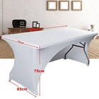Tight Table Cover (Strecth) For Offices 5