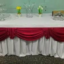 Ijo Table Cover White