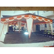 Tenda datar