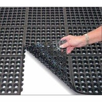 Rubber Mat Perforated Holes ( Karet bolong )