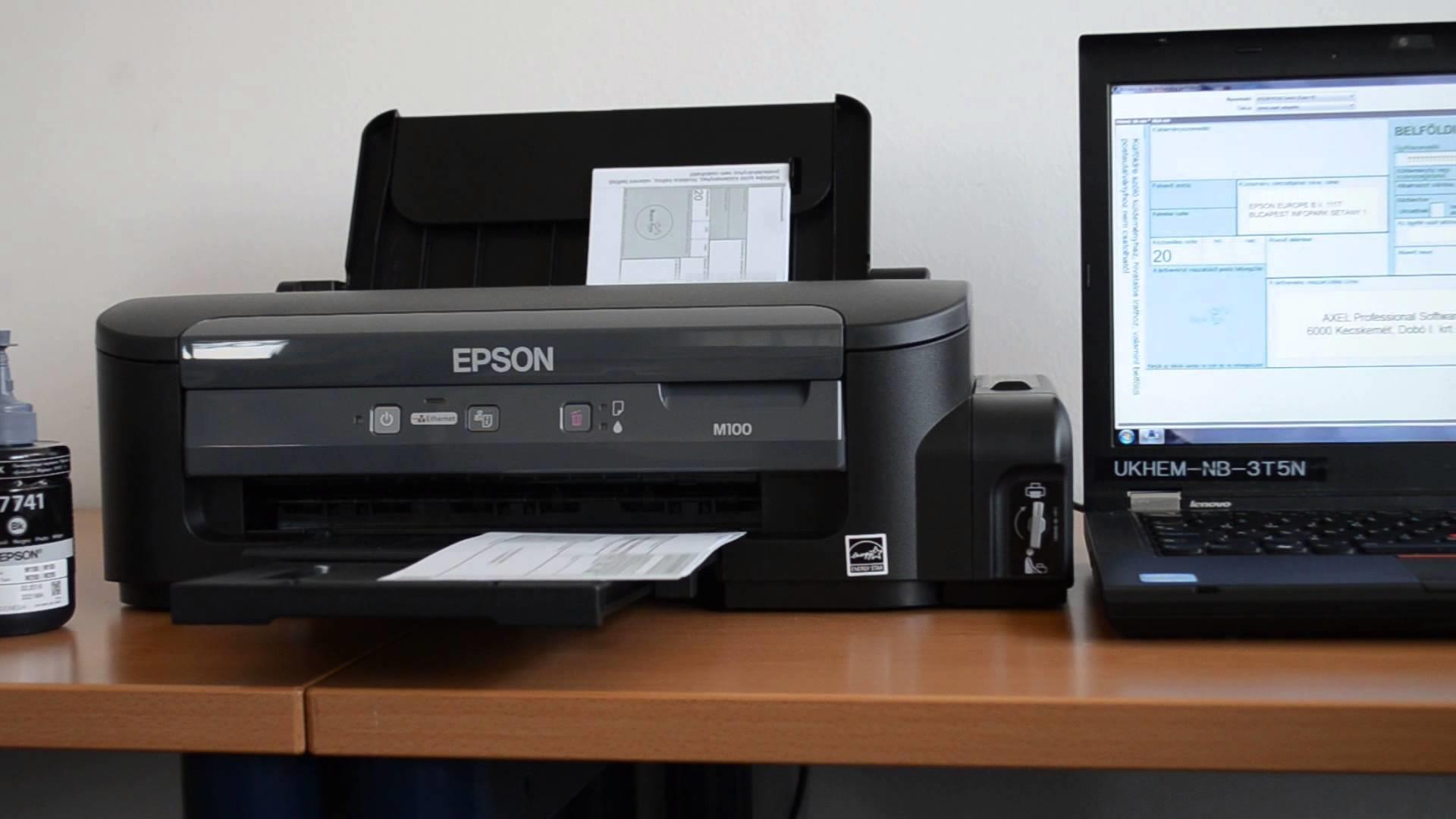 Jual Printer Epson M100 Harga Murah Surabaya Oleh