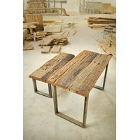 Jual meja makan minimalis railwood