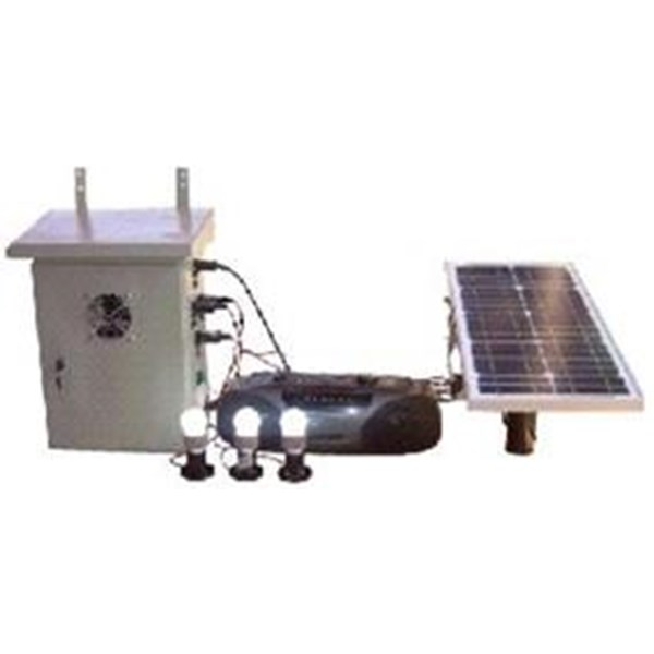 Paket Solar Panel 50 WP Inverter 500 Watt