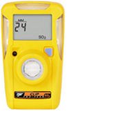 Alat Pertahanan Diri Single Gas Detector SO2