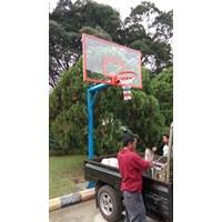 Papan Pantul Basket Tiang Tanam