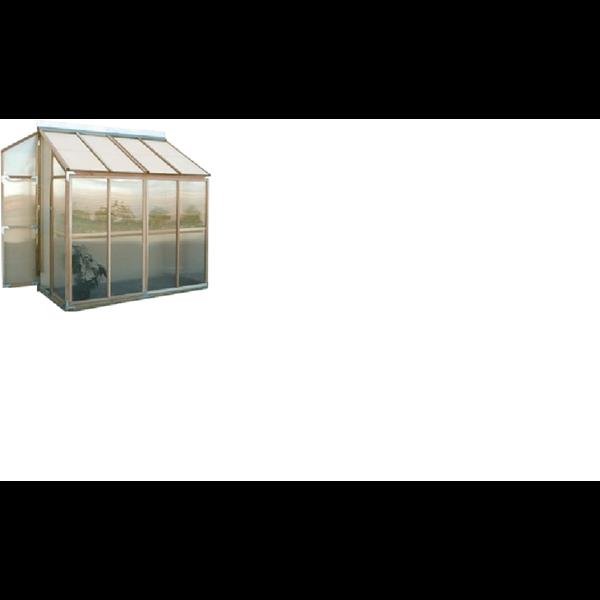 Rumah Kaca Dinding Vertikal