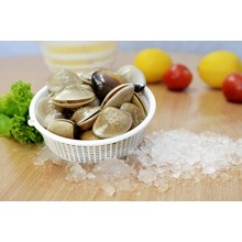 Frozen Half Shell White Clams Or Whole Shell White