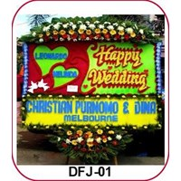 Jual Bunga Happy Wedding DFJ-01