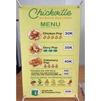 Jual Mini banner