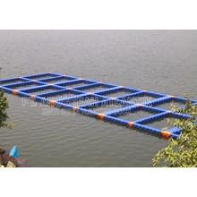 Tambak Apung - Modular Float System - Floating Dock - Kubus Apung Hdpe - Kubus Apung Plastik - Ponton Hdpe - Ponton Plastik - Cube Float