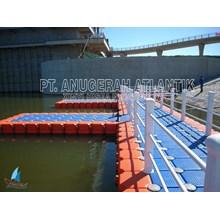 Dermaga Apung - Modular Float System - Floating Dock - Kubus Apung Hdpe - Kubus Apung Plastik - Ponton Hdpe - Ponton Plastik - Cube Float