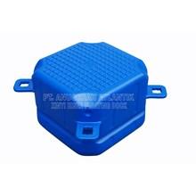 Kubus Apung Hdpe Single Blue - Modular Float System - Floating Dock - Kubus Apung Hdpe - Kubus Apung Plastik - Ponton Hdpe - Ponton Plastik - Cube Float